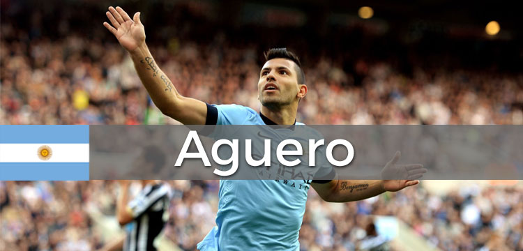 Kun Aguero Official Soccer Jersey, Cleats, Jacket And More