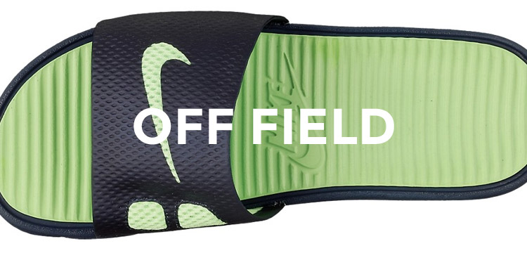Men's Off Field Shoes & Soccer Sandals