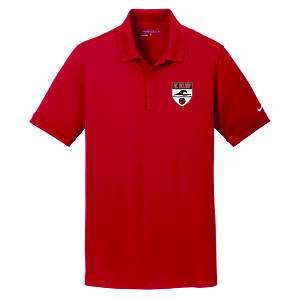 Nike Golf Dri-FIT Solid Icon Pique Modern Fit Polo - Red 746099