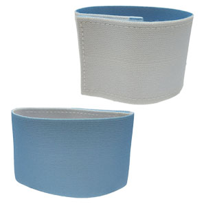 Shin Guard Stay (Reversible) - Light Blue/White GUARDSTAY03