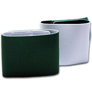 Shin Guard Stay (Reversible) - Forest Green/White GUARDSTAY08