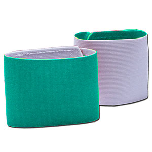 Shin Guard Stay (Reversible) - Teal/White GUARDSTAY09