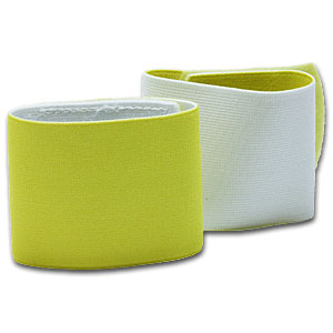 Shin Guard Stay - Yellow/White GUARDSTAY04