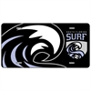 South Florida Surf License Plate  SFSLicense