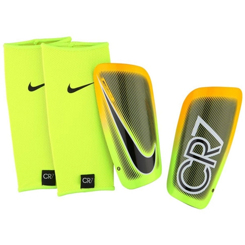 Nike CR7 Mercurial Lite - Laser Orange/Volt NOCSAE Approved SP2114-845