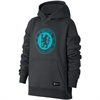 adidas Youth Chelsea Pullover Hoodie - Anthracite/Omega Blue 905502-064