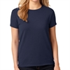 Gildan 5000L Cotton Women's T-Shirt - Navy 5000LNav