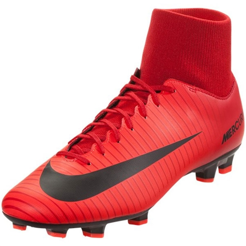 Nike Mercurial Victory VI DF FG - University Red/Black 903609-616