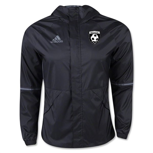Massive adidas Condivo 16 Rain Jacket - Black Mass-AN9862