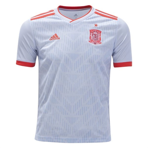 adidas Spain Youth Away Jersey 2018 BR2694