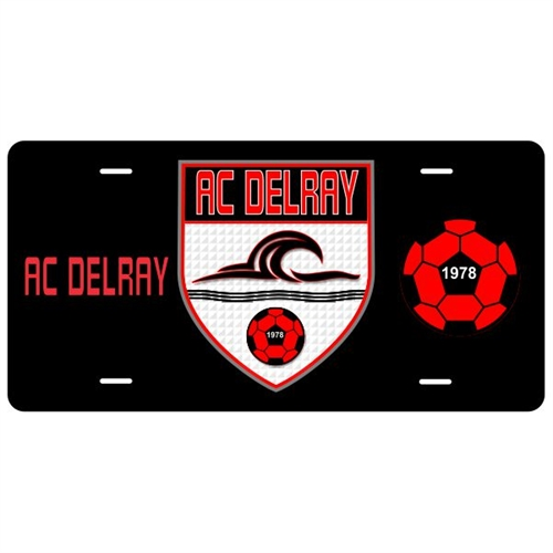 AC Delray License Plate AC-License