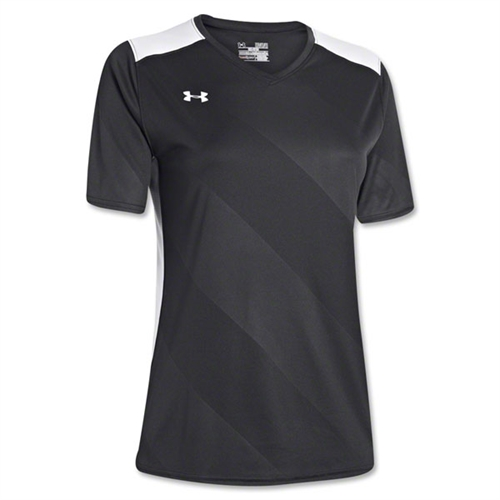 Under Armour Women's Fixture Jersey - Black 1247791Blk