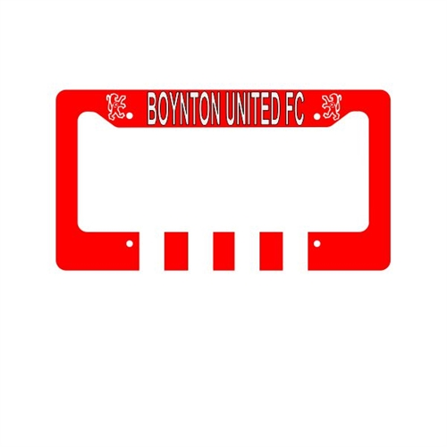 Boynton United License Plate Frame  BU-LPFrame