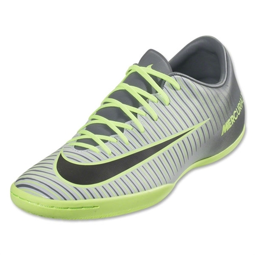 Nike Mercurial Victory VI IC - Pure Platinum/Black/Ghost Green Indoor 831966-003