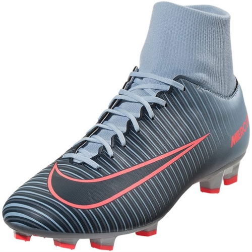 Nike Mercurial Victory VI DF FG - Light Armory Blue/Armory Navy 903609-400