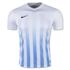 Nike SS Striped Division II Jersey - White/Blue 820700WhiBlu