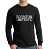 Boynton United Long Sleeve T-Shirt - Black BU-LTee