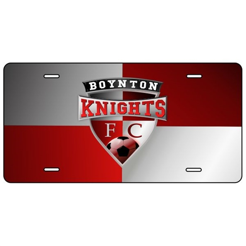 Boynton Knights License Plate  BK-License