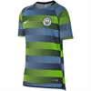 Nike Manchester City Pre-Match Youth Training Jersey 2018 894399-702