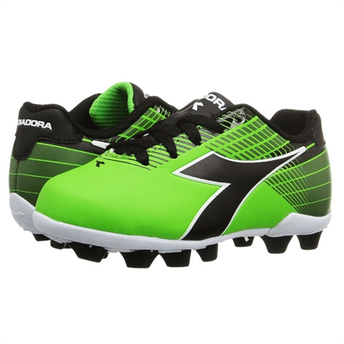 Diadora Ladro MD Soccer Cleat(Children's) -Black/Yellow/Grey Get Discount Find Great yHQI0kC