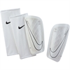 Nike Mercurial Lite Shinguard - White/Black - NOCSAE SP2086-100