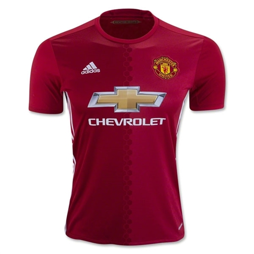 adidas Manchester United Home Jersey 2016-2017 AI6720