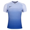 Nike Youth Precision IV Jersey - White/Game Royal/Black 886830-100