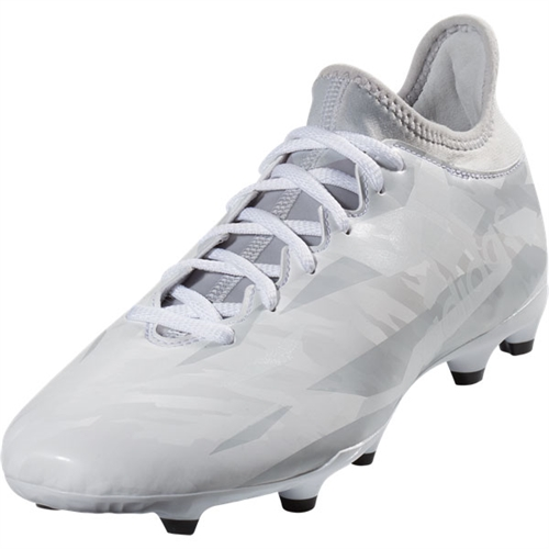 adidas gray and white soccer cleats