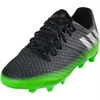 adidas Junior Messi 16.1 FG - Dark Grey/Silver/Slime Green BB3851