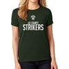 Lee County Strikers Women's T- Shirt - Forest Green G5000L-FG