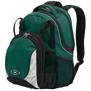 Xara Magna Backpack - Green xara7006grn