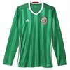 adidas Mexico Long Sleeve Home Jersey 2016 AC2724