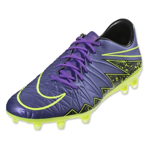 Nike Hypervenom Phatal II FG - Hyper Grape/Black/Volt 749893-550