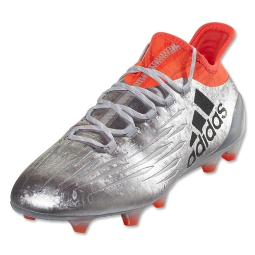 adidas X 16.1 FG - Silver Metallic/Black/Solar Red S81939