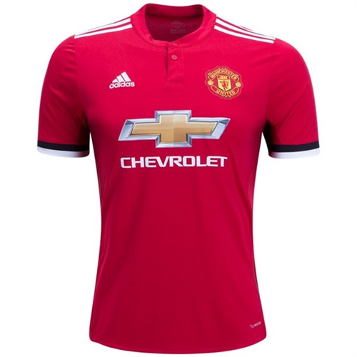 adidas Manchester United Home Jersey 2017-2018 BS1214