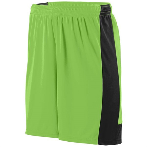 Augusta Lightning Shorts - Lime 1605Lim