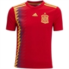 adidas Spain Youth Home Jersey 2018 BR2713