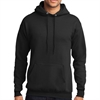 Core Fleece Youth Pullover Hooded Sweatshirt - Black