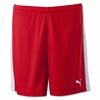 Puma Women's Pitch Shorts - Red 702331Red