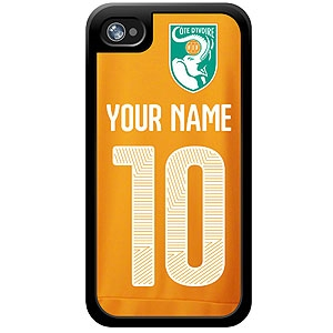 Ivory Coast Custom Player Phone Cases - iPhone (All Models) iph-ivcs-plyr