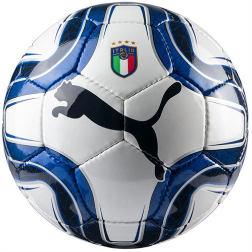 Puma Italia Fan Soccer Ball - Team Power Blue/Peacot 082951-01
