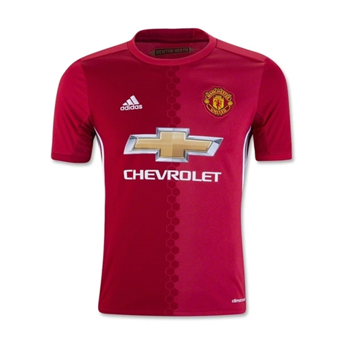 adidas Manchester United Youth Home Jersey 2016-2017 AI6716
