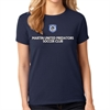 Martin United Predators Soccer Club Women's T-Shirt - Navy MUP-WTee