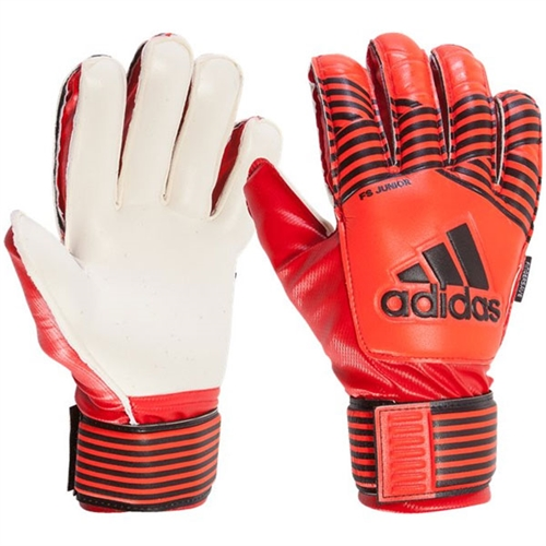 adidas Junior ACE Fingersave Goalkeeping Glove - Solar Red BS1506