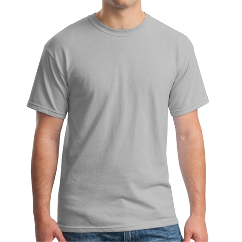 Gildan 5000 Cotton T-Shirt - Sports Grey G5000-Grey