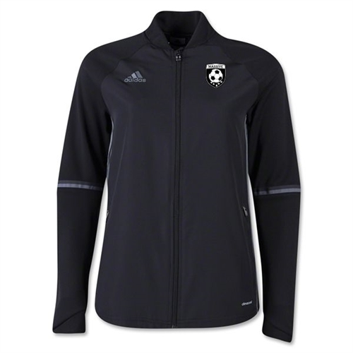 Massive adidas Women's Condivo 16 Training Jacket - Black S93557MA
