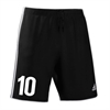RPB Striker Adidas Fortore 14 Short - Black/ White RPBFortoreShorts-bk/wh