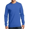Gildan 5400 Cotton Long Sleeve T-Shirt - Blue G5400Blu