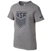 Nike USA Youth Crest Tee - Charcoal 807754-071