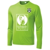 Lee County Strikers Long Sleeve Training Jersey - Lime Shock ST350LSLC